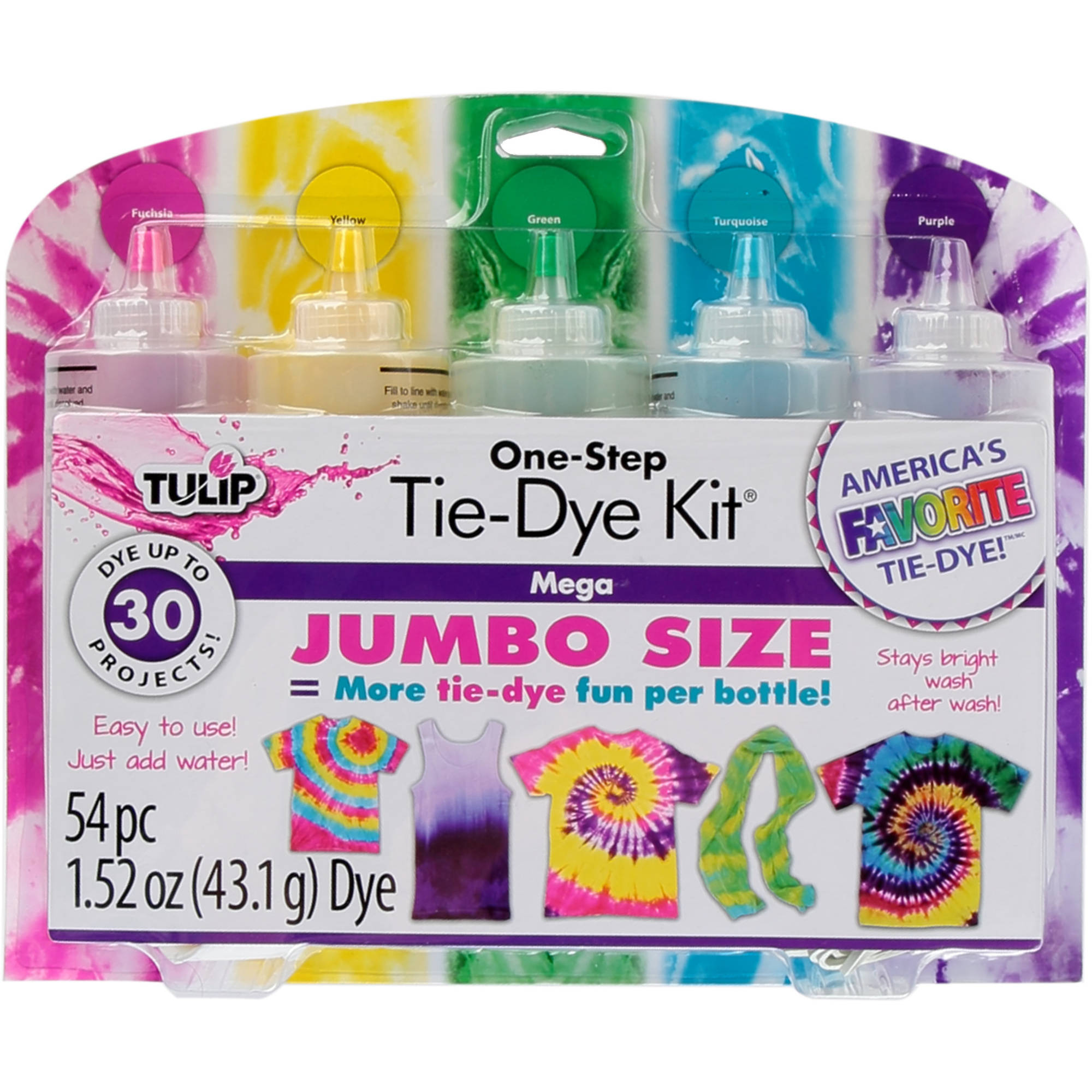 Tulip One-Step Tie Dye Kit, Mega