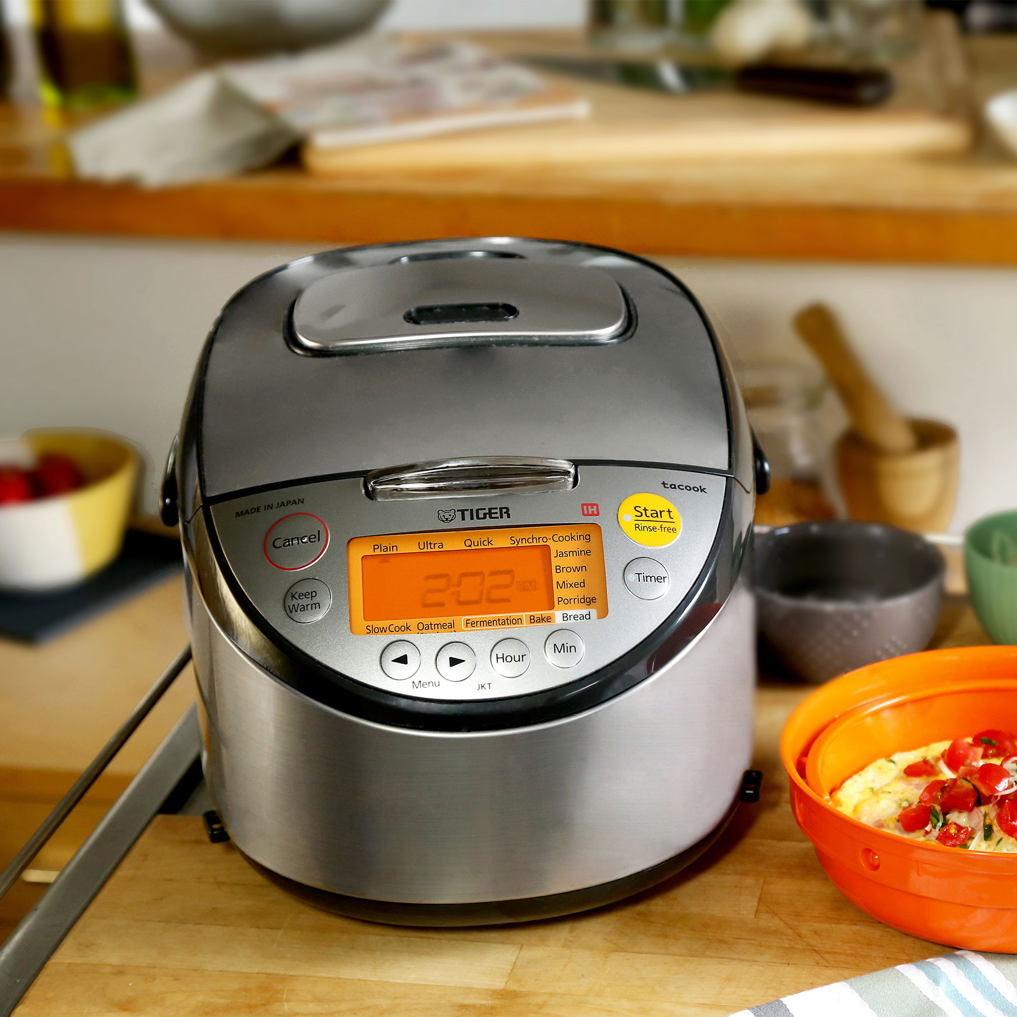 Tiger 5.5-cup Induction Heating Rice Cooker & Warmer