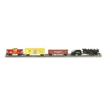- Bachmann Trains Yard Boss N Scale Ready-to-Run Electric Train Set | 24014-BT