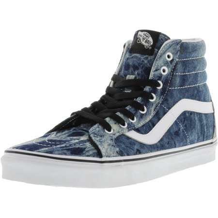 1b9594c088 Vans - Vans Sk8 Hi Reissue Acid Denim Black   White High-Top Cotton  Skateboarding Shoe - 12M 10.5M - Walmart.com