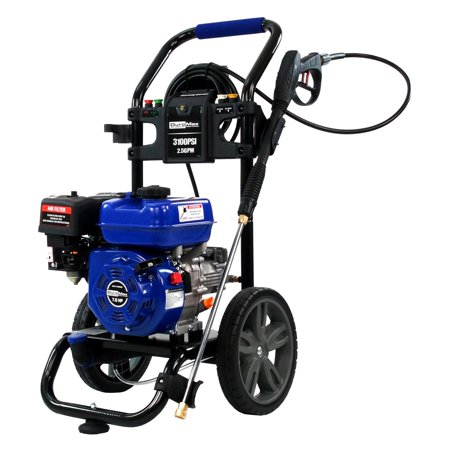DuroMax XP3100PWT 3100 PSI 2.5 GPM 7 HP Gas Engine Turbo Nozzle Pressure Washer