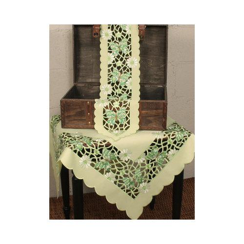 Xia Home Fashions Emerald Mariposa Dining Linens