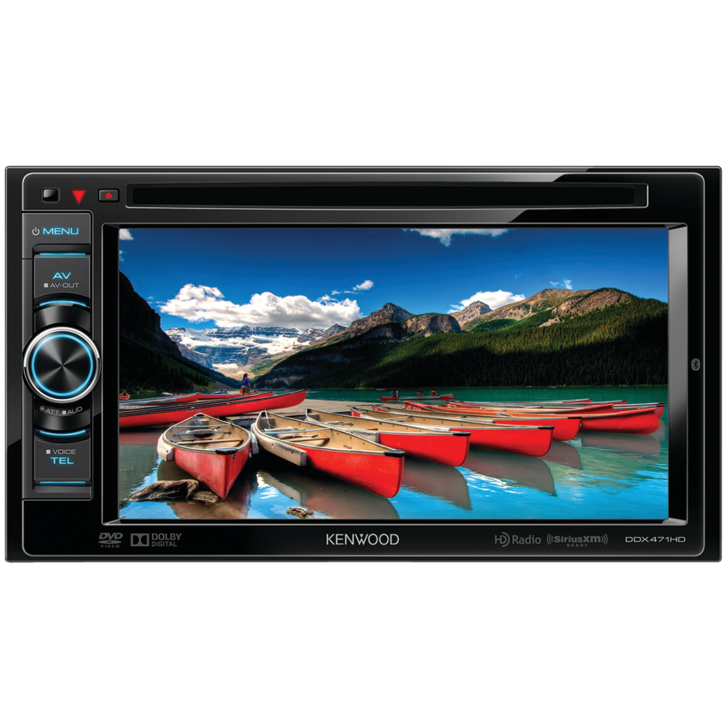 Kenwood Double Din 6.1' Monitor Player Built in Bluetooth HD Radio New DDX471HD by Kenwood