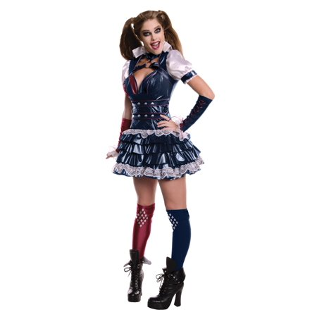 Secret Wishes Harley Quinn Women's Adult Halloween Costume, - Rubies Secret Wishes