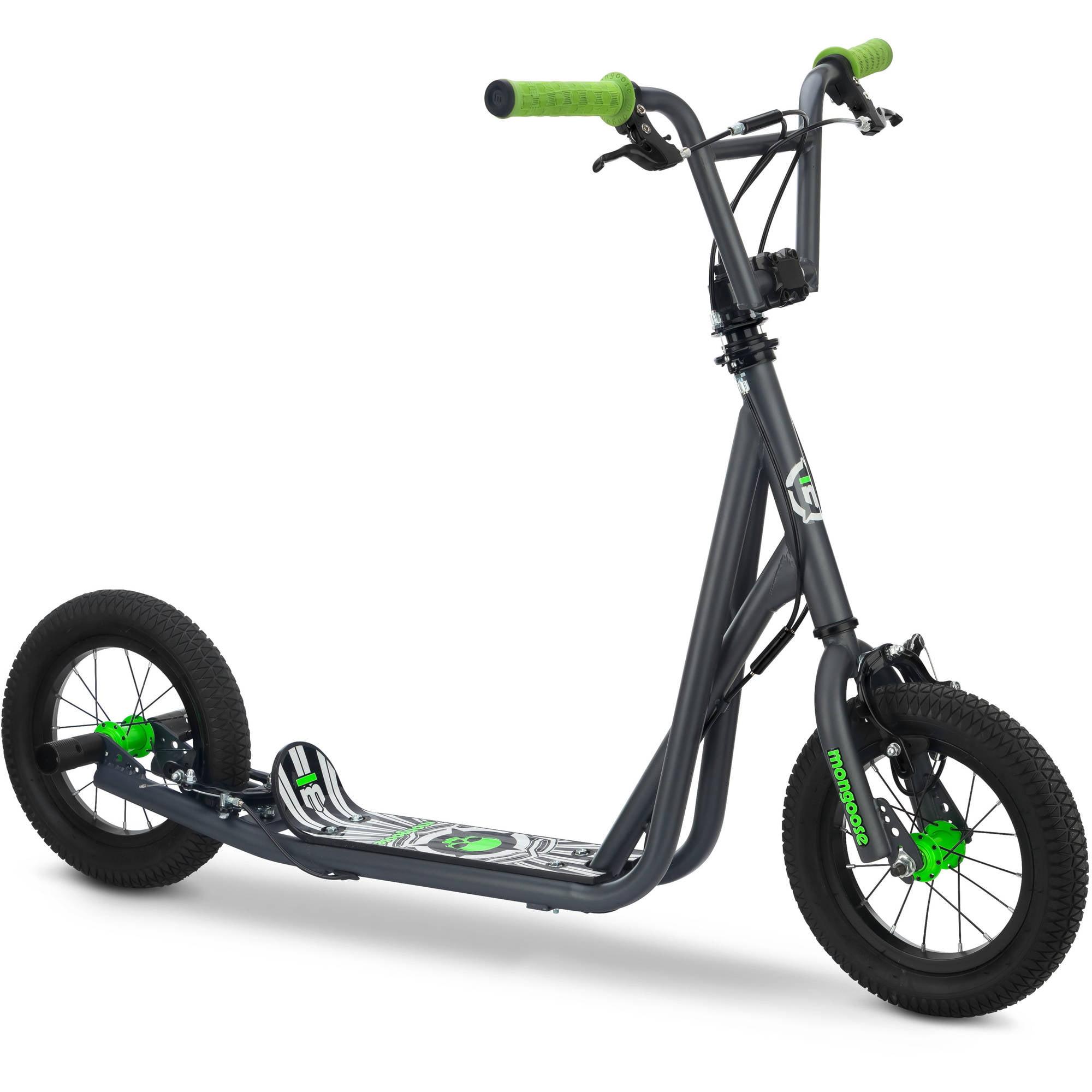 12u0022 Mongoose Expo Scooter - Grey/green