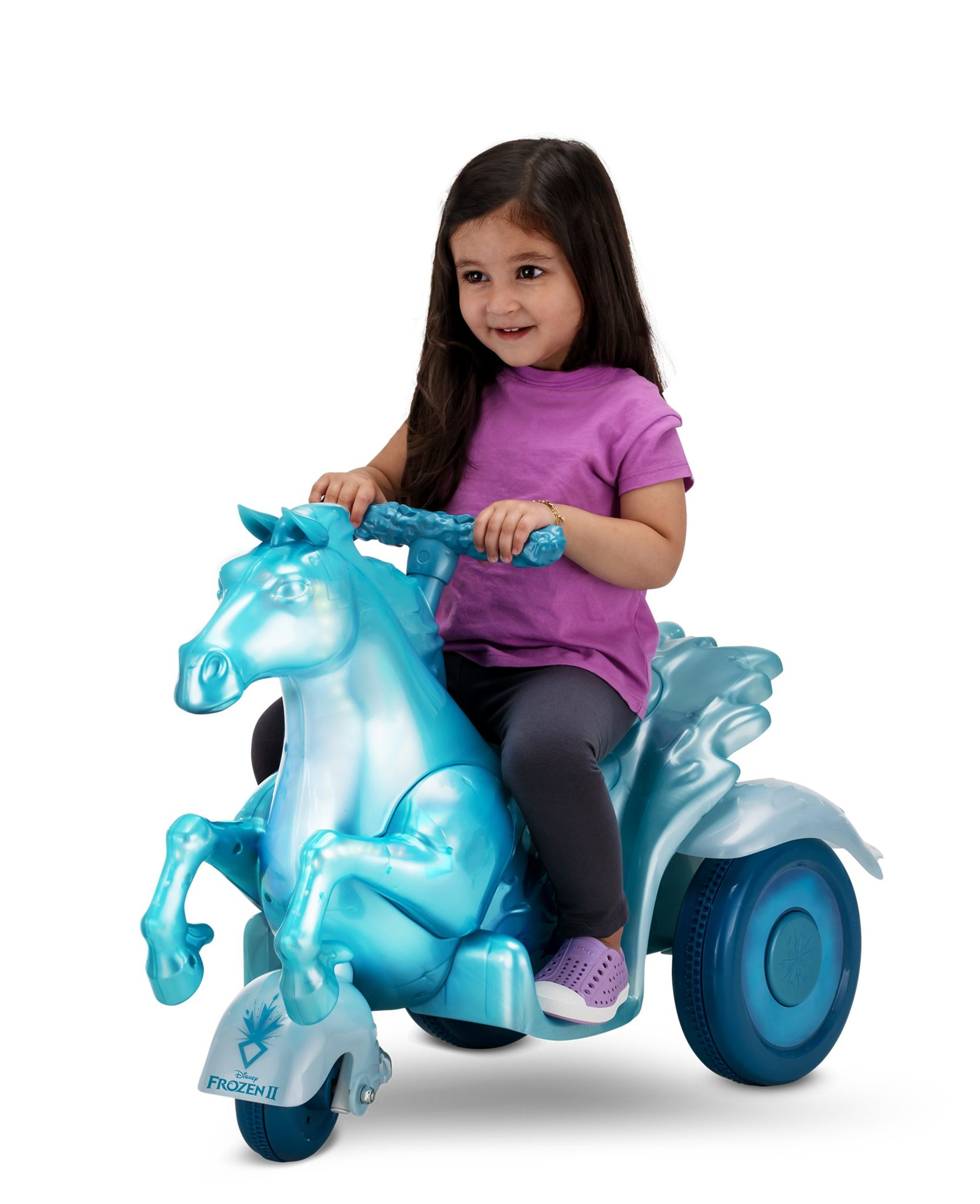 Disney Frozen 2 Water Nokk Ride On Toy By Kid Trax Walmart Com Walmart Com