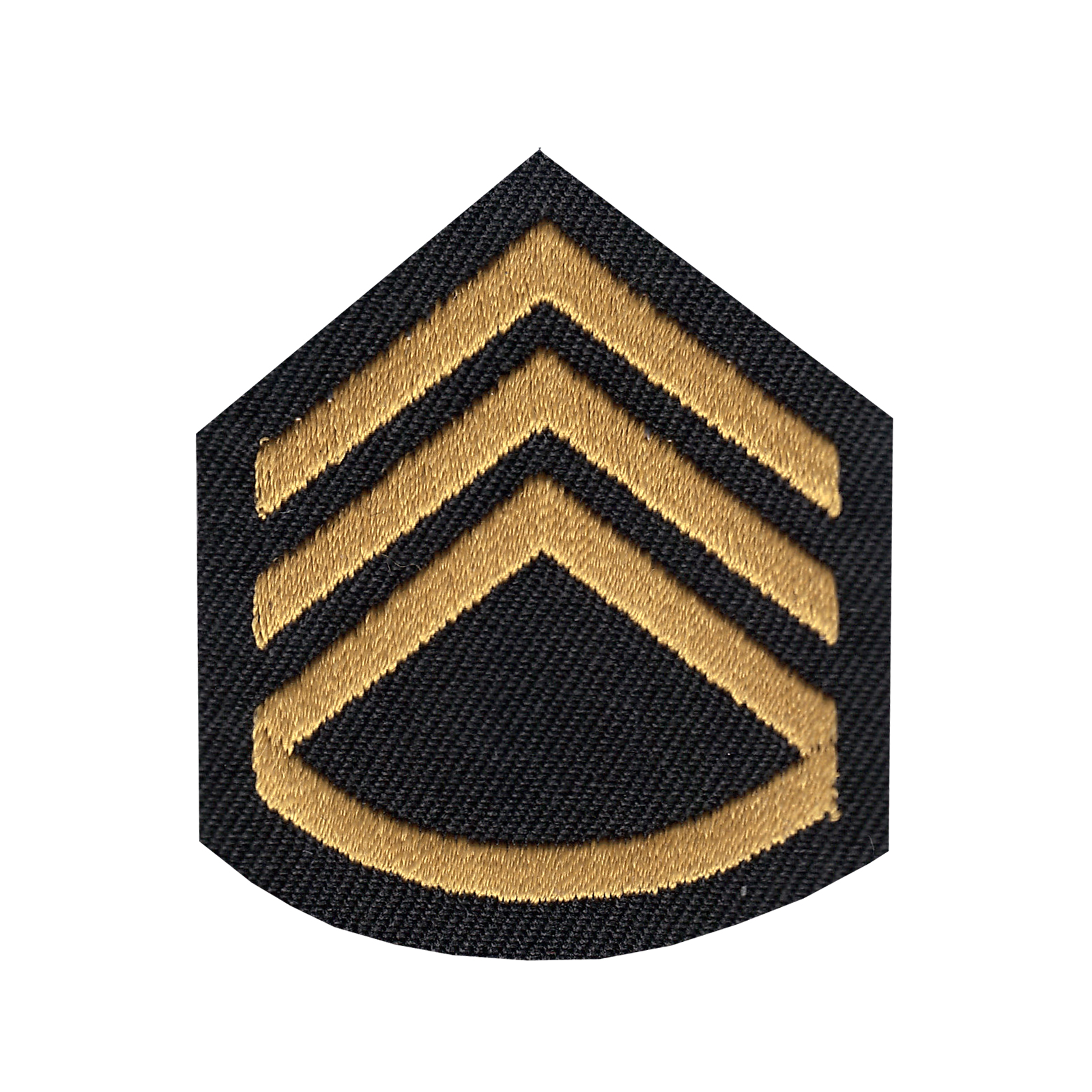 Staff Sergeant Iron On Applique Patch
