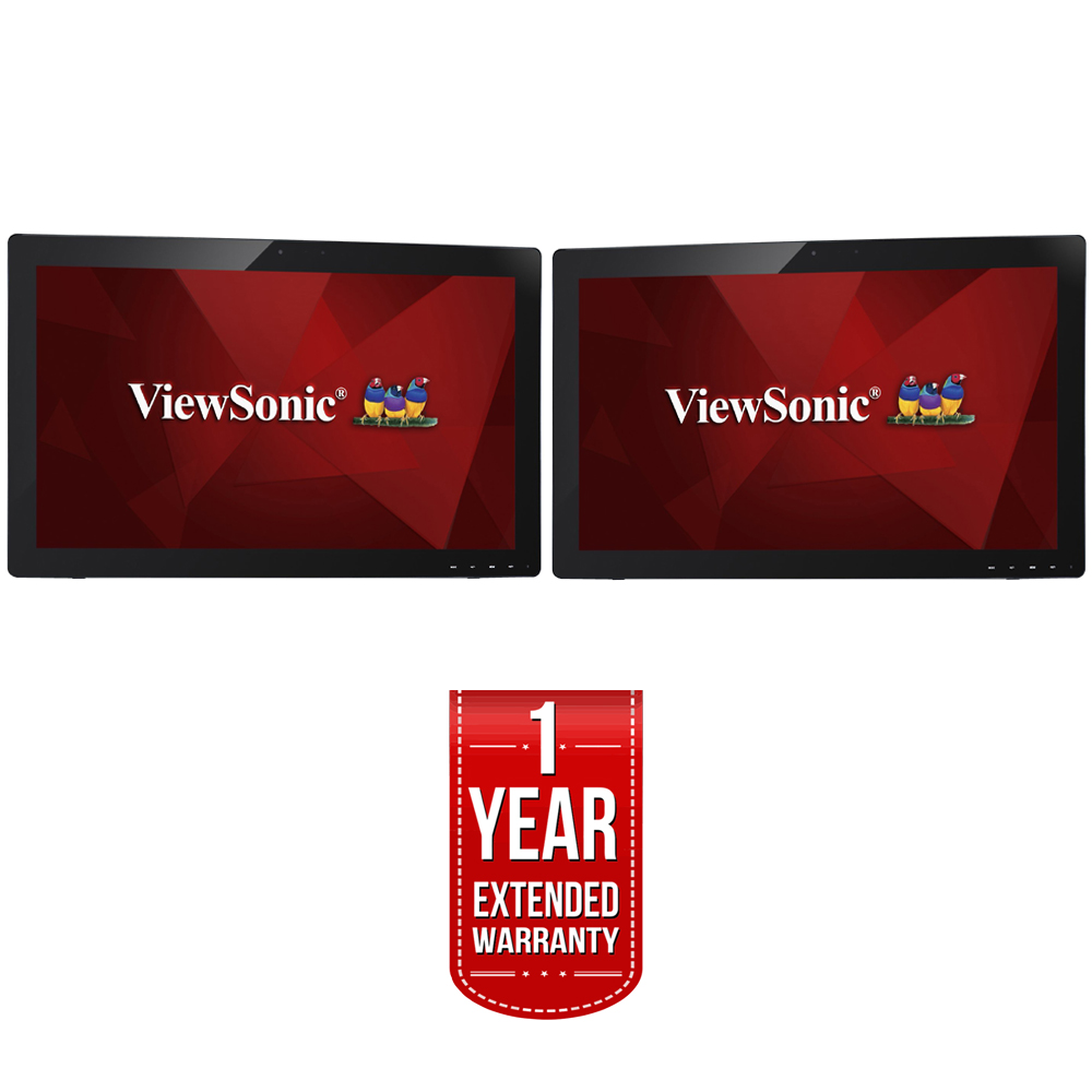 """ViewSonic TD2740 27"""" 1080p 10-Point Multi Touch Screen Dual Monitor + 1 Year Extended Warranty by ViewSonic"""