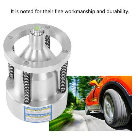 Ejoyous Car Truck Portable Hubs Wheel Tire Balancer Bubble Level Heavy Duty Rim ()
