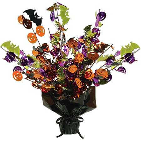 Halloween Gleam 'N Burst Centerpiece Party Accessory (1 Count) (1/pkg) Pkg/3 - Halloween Party Food Names