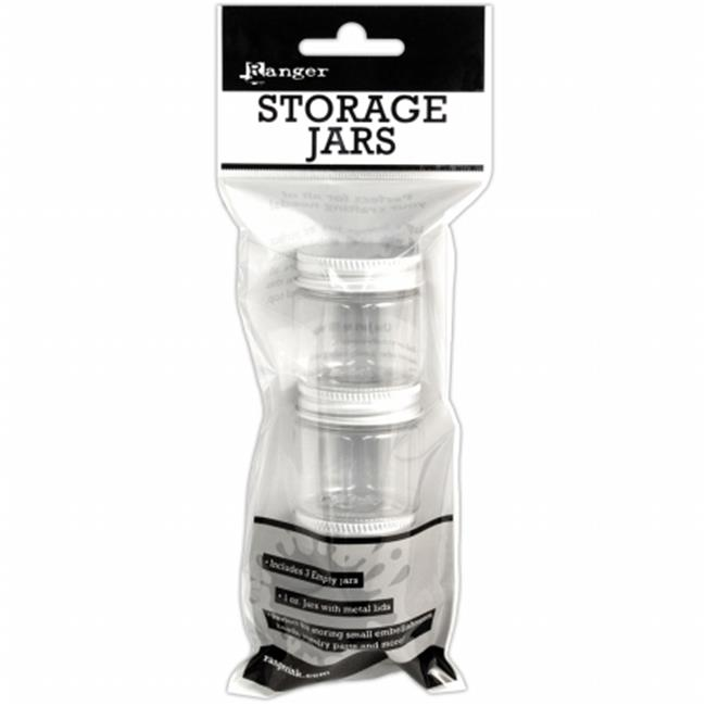 Ranger INK47889 Storage Jars 1 oz. by