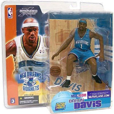 (McFarlane NBA Sports Picks Series 3 Baron Davis Action Figure [Turquoise Jersey Variant])