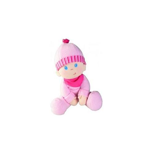 """HABA Snug-up Doll Luisa 9"""" First Baby Doll - Machine Washable for Ages Birth and Up"""