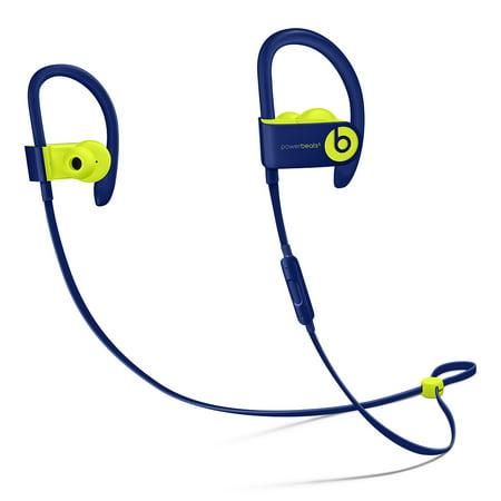 Refurbished Beats by Dr. Dre Powerbeats3 Wireless Pop Indigo Beats Pop Collection In Ear Headphones MREQ2LL/A
