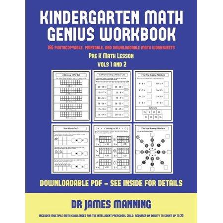 Kindergarten Art Lesson Halloween (Pre K Math Lesson (Kindergarten Math Genius) : This Book Is Designed for Preschool Teachers to Challenge More Able Preschool Students: Fully Copyable, Printable, and)
