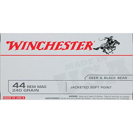 Winchester 44 Rem Mag 240 Gr Jsp