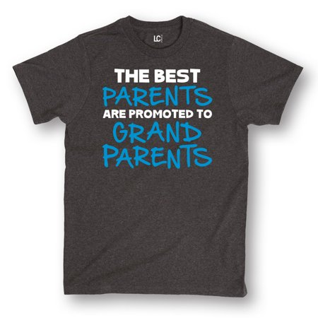 The Best Parents Are Promoted To Grandparents Funny Mimi Papa Cute Mens (The Best Parents Get Promoted To Grandparents Wine Label)