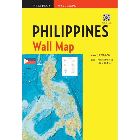 Philippines wall map second edition : scale: 1:1,750,000; unfolds to 40 x 27.5 inches (101.5 x 70 cm: (Cagayan De Oro Map In The Philippines)