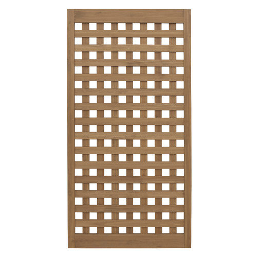 Yardistry Yardistry 5' H x 2' 7'' W Heavy Lattice Panel