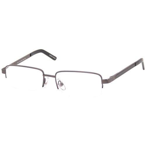 Foster Grant Men's Carbon Fiber Metal Reading Glasses, Ashton Gunmetal
