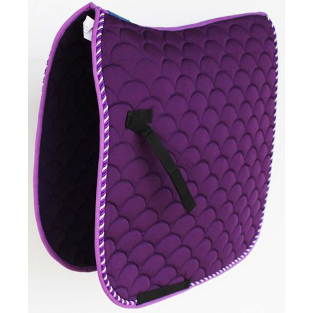Horse Quilted ENGLISH SADDLE PAD Trail Dressage 7295