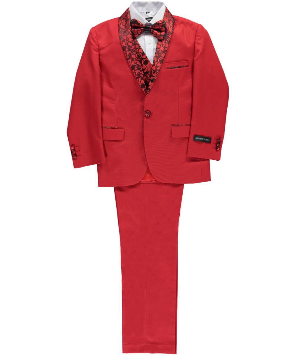 "Kids World Big Boys' ""Winthrop"" 5-Piece Suit (Sizes 8 - 20)"