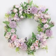 Peony Wreath Flower Wreath Front Door Fall Wreath Autumn Wreaths for Wedding Wall Indoor Outdoor Decor
