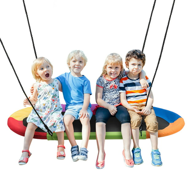 Gymax 60-inch Saucer Tree Swing Surf Only $56.99