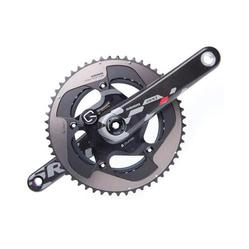 SRAM 2013 Red Quarq GXP Power Meter Road Bicycle Crankset  (Black - 175 x 53/39)