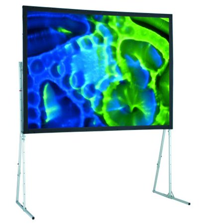 Ultimate Cineflex Folding Portable Projection Screen Viewing Area: 6' H x 6'
