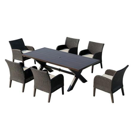 OVE Decors Majorca III 7-Piece Dining Set