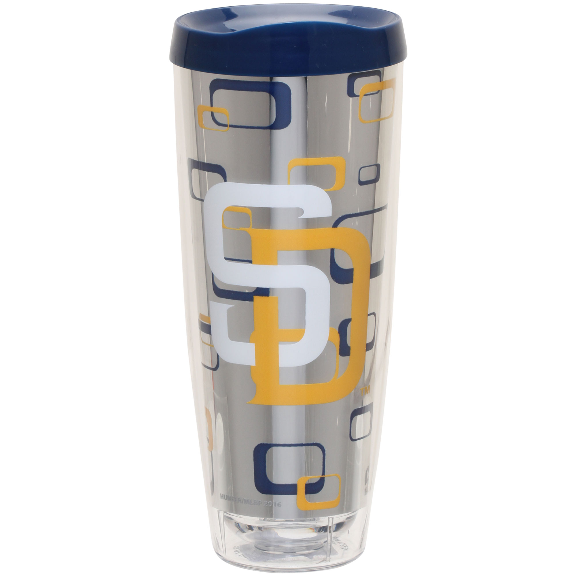 San Diego Padres 26oz. Tritan Foil Wrap Tumbler - No Size