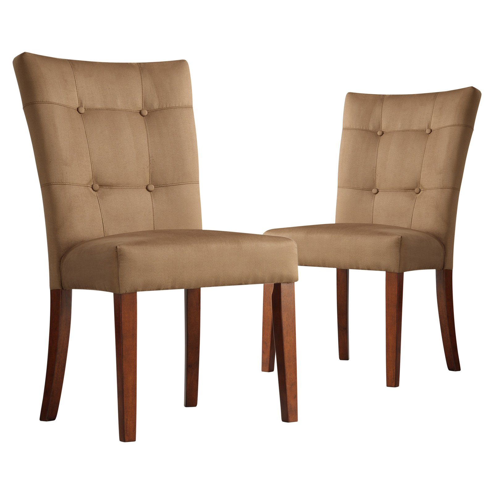 Weston Home Tufted Parsons Dining Chair - Set of 2