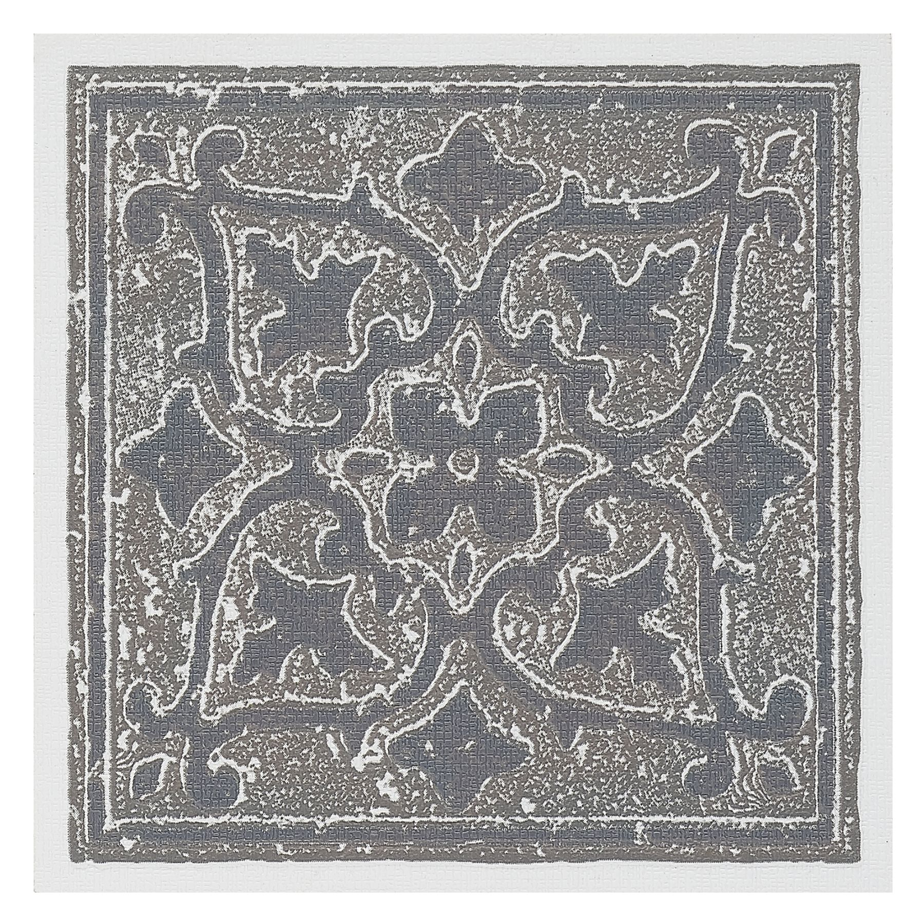 Traditional Elegance Madison Accent Gray 4x4 Self Adhesive Vinyl Wall Tile - 27 Tiles/3 sq. Ft.