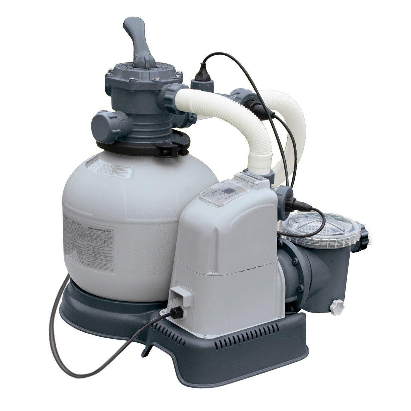 Intex 2100 GPH Krystal Clear Sand Filter Swimming Pool Pump   28645EG