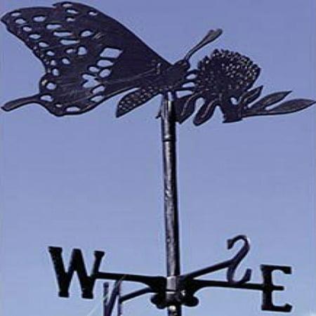 Whitehall Butterfly Garden Weathervane (Black)