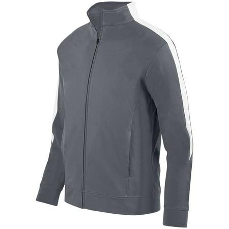 Augusta Sportswear 2Xl Mens Medalist Jacket 2 0 Graphite White