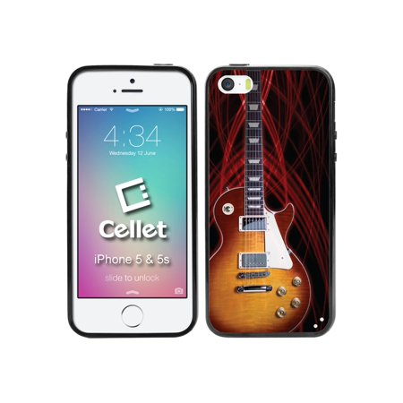 Cellet TPU / PC Proguard Case with Guitar for Apple iPhone 5 & 5s