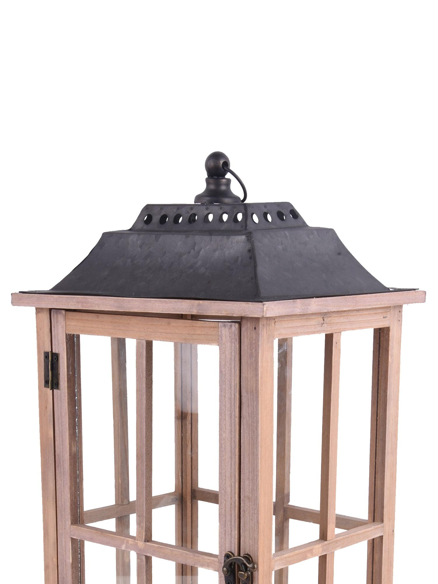 Nascar wooden lantern