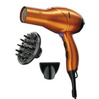 InfinitiPRO by Conair 1875 Watt Hair Dryer/Styling Tool, 259TPRY; Orange