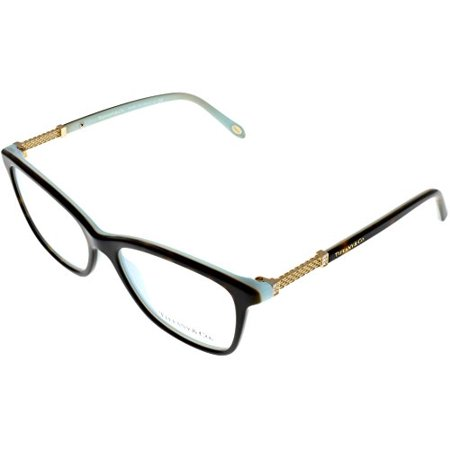 8303c9e621974 Tiffany   Co Prescription Eyewear Frames Womens Square Havana Blue TF2116B  8134 Size  Lens  Bridge  Temple  53 16 140 37 - Walmart.com