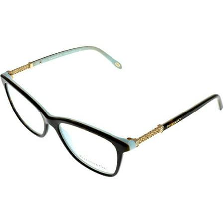 e1f0907f5e13 Tiffany   Co Prescription Eyewear Frames Womens Square Havana Blue TF2116B  8134 Size  Lens  Bridge  Temple  53 16 140 37 - Walmart.com