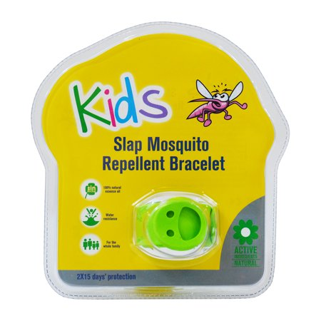 Slap mosquito repellent bracelet w two 15 day refill for Mosquito pellets