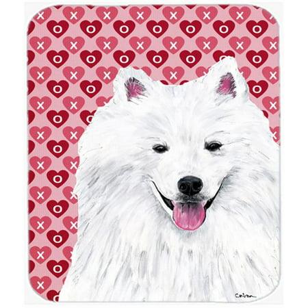 Carolines Treasures SC9260MP American Eskimo Hearts Love And Valentines Day Mouse Pad, Hot Pad Or Trivet - image 1 de 1