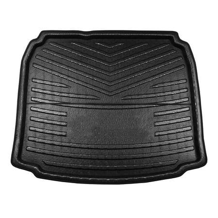 Black Car Rear Trunk Floor Mat Cargo Boot Liner Carpet Tray for Audi A3 2014-2018 Audi A3 Rear Mat