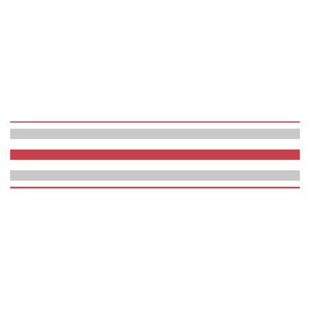 Fun4walls stripe peel and stick wall border set of 2 for Peel and stick wallpaper walmart