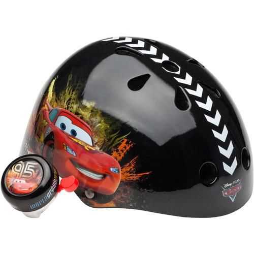 Disney Cars II Hardshell Youth Helmet with Bonus Bicycle Bell