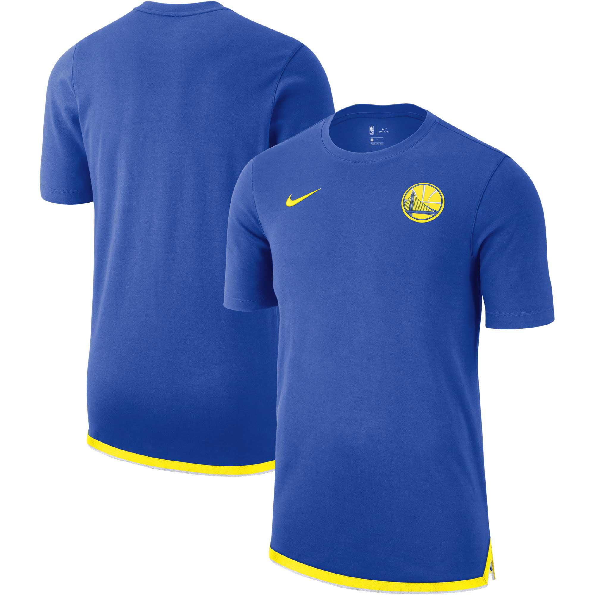 Golden State Warriors Nike Essential Uniform DNA T-Shirt - Royal