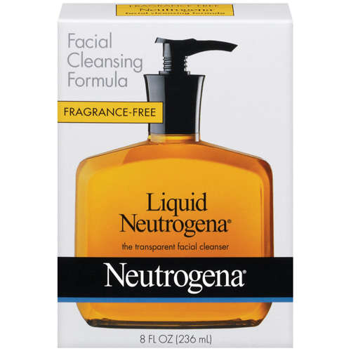 Neutrogena Facial Cleansing Formula Fragrance Free Liquid Neutrogena, 8 oz