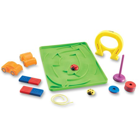 Learning Resources, LRN2833, Magnetic Ladybugs Activity Set, 1 (Ladies Shapes)